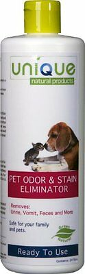 Unique Natural Products Pet Odor and Stain Eliminator, 24-Ounce