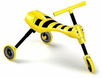 Indoor/Outdoor Pedal-Free Scuttlebug Trike, in Bumblebee