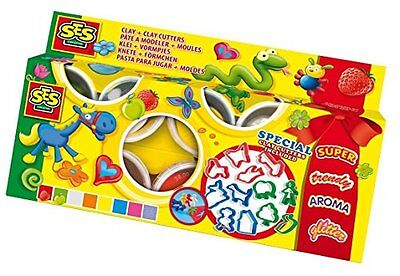 SES Creative Children's Claymania Clay and Cutters Set