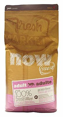 NOW! 152319 Fresh Grain Free Food for Adult Cats, 8-Pound Bag