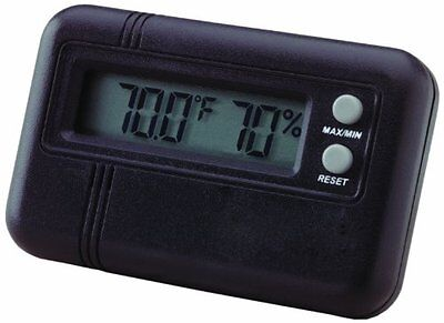 Buddy Products 1.5 x 0.5 x 2.5 Inches Digital Hygrometer and Thermometer, B