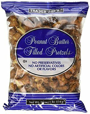 Trader Joe's Peanut Butter Filled Pretzel 16oz (1lb)