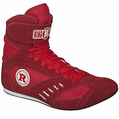 Ringside Power Boxing Shoes (Red, 10)
