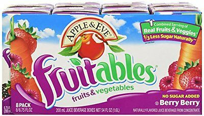 Apple & Eve, Berry Berry Fruitables, 5/8/200 Ml