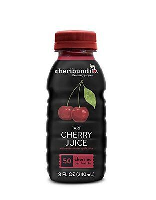 Cheribundi Energy Drink, Cherry Juice, 8 Ounce (Pack of 12)