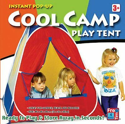 Free Time 4 Kids Cool Camp Play Tent