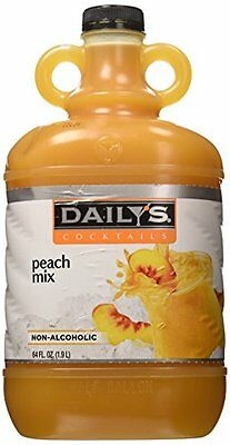 Daily's 64 oz. Peach Daiquiri & Margarita Mix