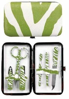 Manual Green Exotic Purse Sized Manicure Set