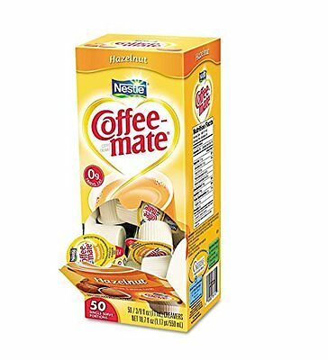 50 Pack Of Coffee-Mate Liquid Creamer, Hazelnut