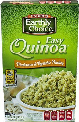 Nature's Earthly Choice All Natural Organic Easy Quinoa, Mushroom and Veget