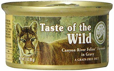 418652 Taste of the Wild, Wild Canyon River Feline Formula, 24 Pack, 3oz ca