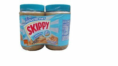 Skippy Creamy Peanut Butter 25% Less Fat 7g Protein (Net Weight 5 Pounds)