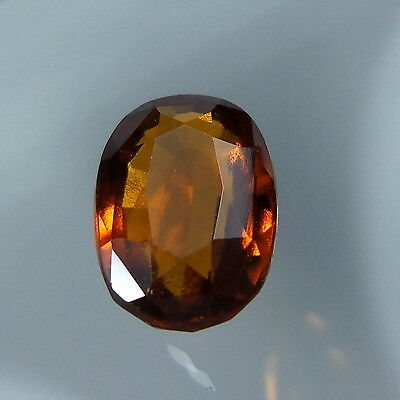 3.3 Cts. Natural Untreated Reddish Orange Hessonite Garnet 10.7x7.5 MM Oval Cut