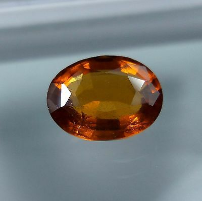 3.5 Cts. Natural Untreated Reddish Orange Hessonite Garnet 10.5x8.1 MM Oval Cut