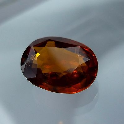 4.1 Cts. Natural Untreated Reddish Orange Hessonite Garnet 11.3x8.6 MM Oval Cut