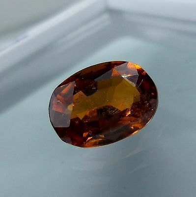 3.3 Cts. Natural Untreated Reddish Orange Hessonite Garnet 10.8x8 MM Oval Cut