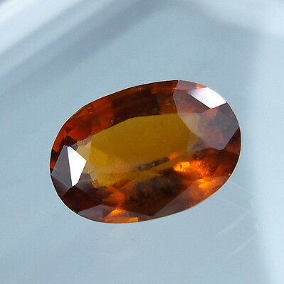 3.9 Cts. Natural Untreated Reddish Orange Hessonite Garnet 11.4x8.1 MM Oval Cut.