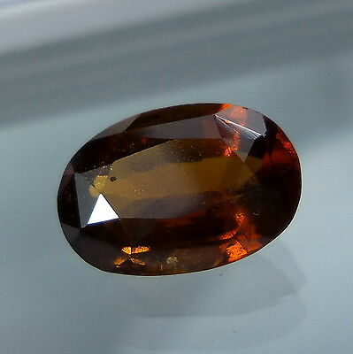 3.4 Cts. Natural Untreated Reddish Orange Hessonite Garnet 10.9x7.7 MM Oval Cut