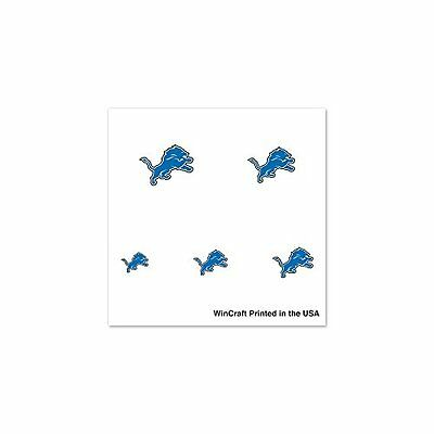NFL Detroit Lions 4-Pack Temporary Nail Tattoos