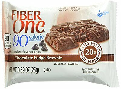 Fiber One 90 Calorie Chocolate Fudge Brownies 24 Count
