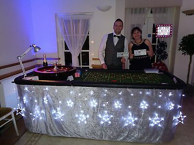 Hire fun casino tables Blackjack / Roulette, Weddings/Birthdays/Fundraising