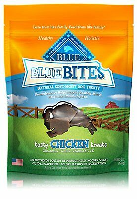 Blue Buffalo Chicken Bites Dog Treats, 6-Ounce