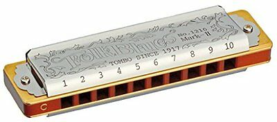 TOMBO NO.1210 Low F Folk Blues Mark-II Harmonica