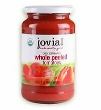 Jovial Organic Jovial Whl Peeld Tom 18.3 oz (Pack Of 6)
