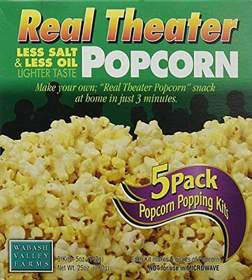 Wabash Valley Farms Popcorn All-Inclusive Popping Kits - Real Theater Less
