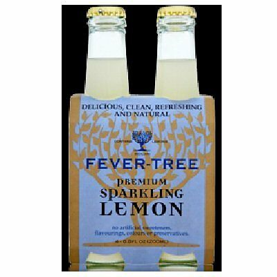 Fever Tree Sparkling Lemon 6.8 Fo (Pack Of 6)