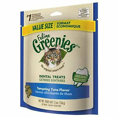 FELINE GREENIES Original Dental Treats - Ocean Fish Flavor - 2.5 oz. (71 g)