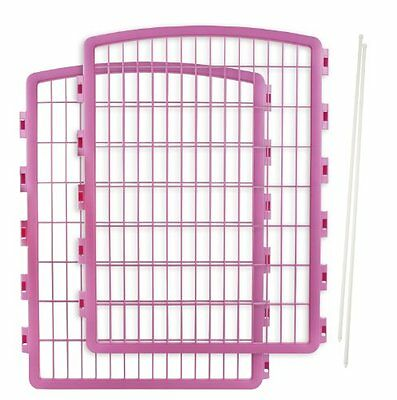 IRIS USA 2-Piece Add-on kit for CI-908 Indoor/Outdoor Pet Pen for Dogs, Pin