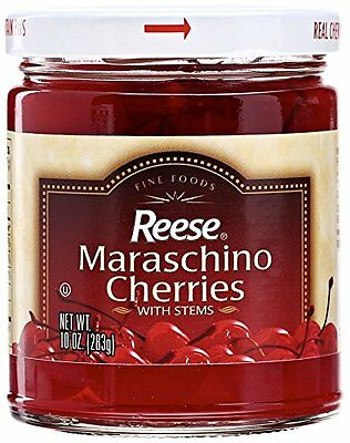 Reese Red Maraschino With StemJars (12x10Oz)
