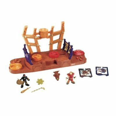 Fisher Price Imaginext Battle Arena - Includes 2 Collectible Trading Cards