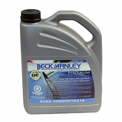 Beck Arnley 252-1020 Premium Antifreeze/Coolant Euro Concentrate (G11)