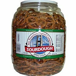 San Francisco Sourdough Pretzels 1.47kg Jar