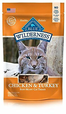 Blue Buffalo Wilderness Grain Free Cat Treats - Chicken & Turkey - 2 oz