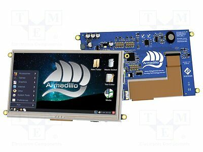 """1 pc Display: TFT; 7""""; Display: graphical; 480cd/m2; uC: BCM2835"""