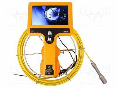 """1 pc Inspection camera; Display: LCD 7""""; Cable len:20m; IP68"""