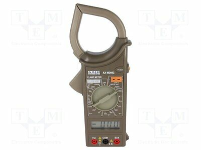 1 pc AC digital clamp meter; ¨cable:54mm; LCD 3,5 digit; 0÷750°C