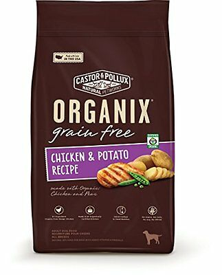 Castor & Pollux Organix Grain-Free Adult Dry Dog Food, 5.25 Pound Bag