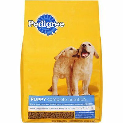 PEDIGREE PUPPY Targeted Nutrition Chicken Flavor Dry Food, 7 lb. Bag