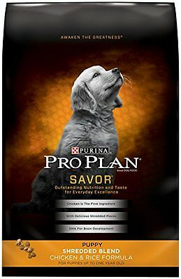 Purina Pro Plan Dry Dog Food, Savor, Puppy Shredded Blend Chicken & Rice Fo