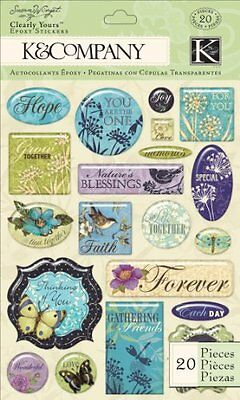 K&Company Susan Winget Clearly Yours, Botanical Word
