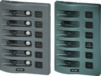 Blue Sea Systems WeatherDeck 12V DC Waterproof 2-Position Switch Panel