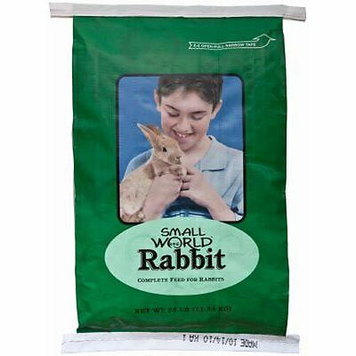 Manna Pro 47531 Small World Rabbit Feed, 10-Pound