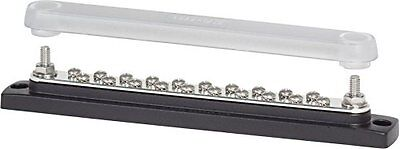 Blue Sea Systems 2312, 150 Ampere Common Busbar (20 x 8-32 Screw Terminal w