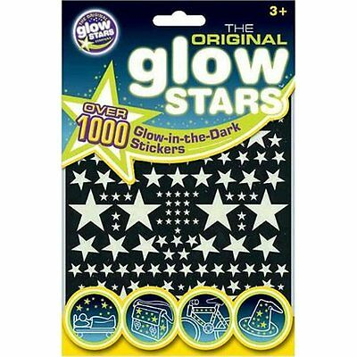 Brainstorm Glowstars 1000 Stickers