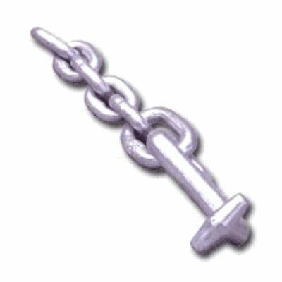 "Mo-Clamp 6310 ""T"" Hook, 5/16"" Chain"