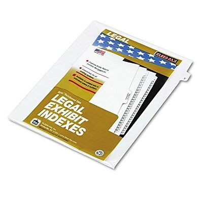 Kleer-Fax 80000 Series Numerical Side Tab Legal Index Divider